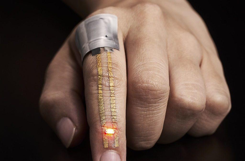 Тази носима джаджа може да записва данни и се чувства като втора кожа