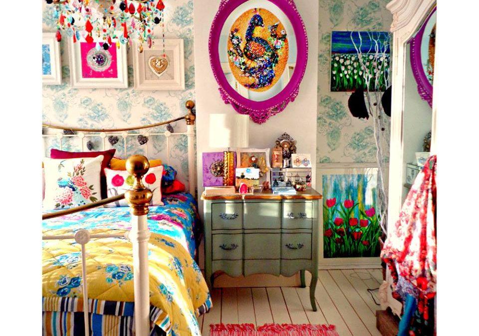 Цветотерапията в спалнята