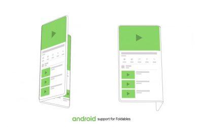 Android ще поддържа устройства със сгъваеми екрани