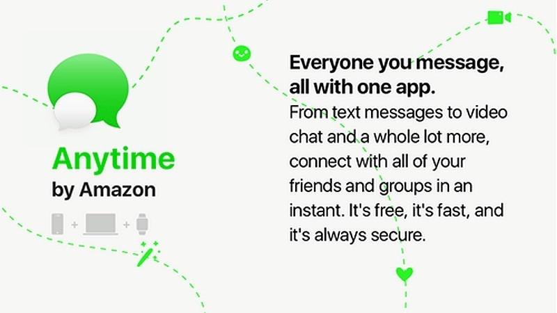Amazon подготвя нова платформа за съобщения на име Anytime