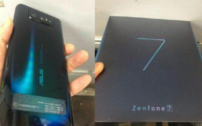 Изтекли изображения потвърждават тройната настройка на камерата на ASUS Zenfone 7