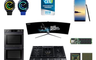 Samsung спечели само 36 награди CES 2018 за иновации в дизайна и инженеринга