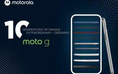 Motorola представи десето поколение moto g устройства