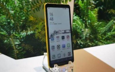 Hisense Color е първия в света смартфон с цветен e-ink дисплей