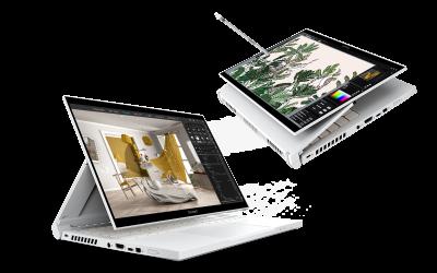 Acer разширява серията за творци ConceptD с нови лаптопи, настолни компютри и монитори