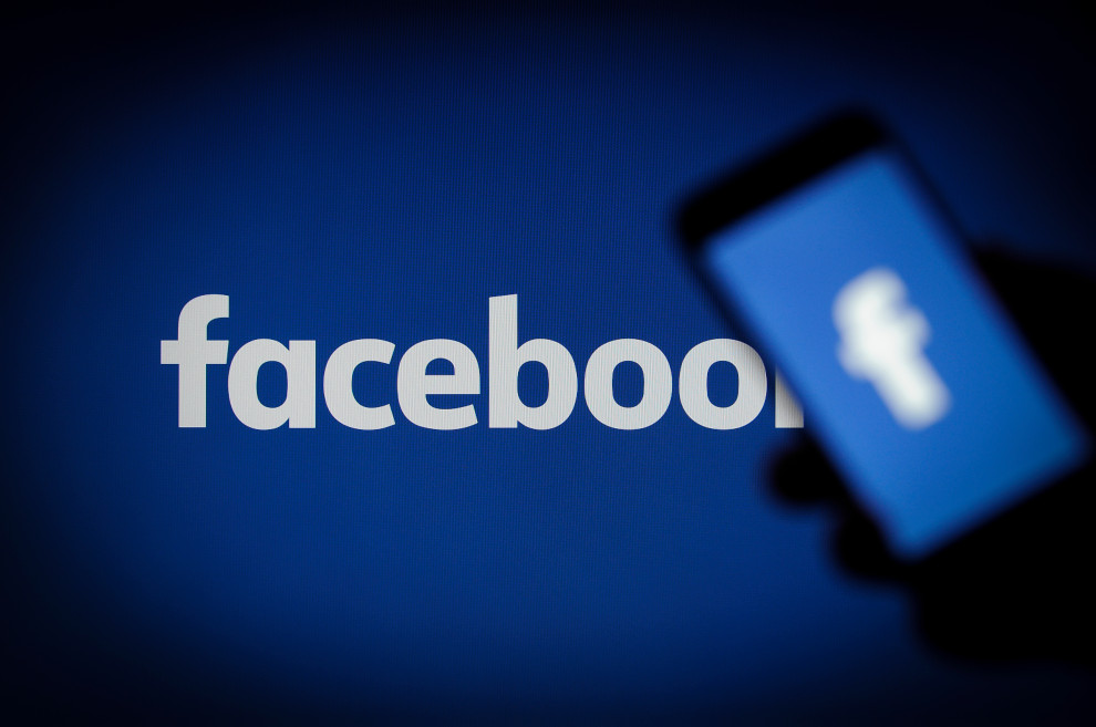 A Facebook logo is seen on a smartphone in this photo illustration on November 15, 2017. (Photo by Jaap Arriens/NurPhoto via Getty Images)