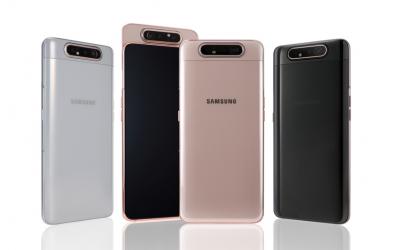 Samsung Galaxy A80 предлага плъзгаща и въртяща се тройна камера