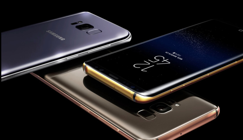 Galaxy S8 Gold