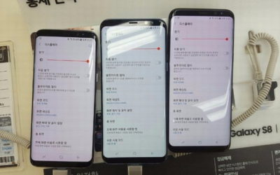 Samsung ще се опита да се пребори с червенеещия дисплей на Galaxy S8 със софтуерен ъпдейт