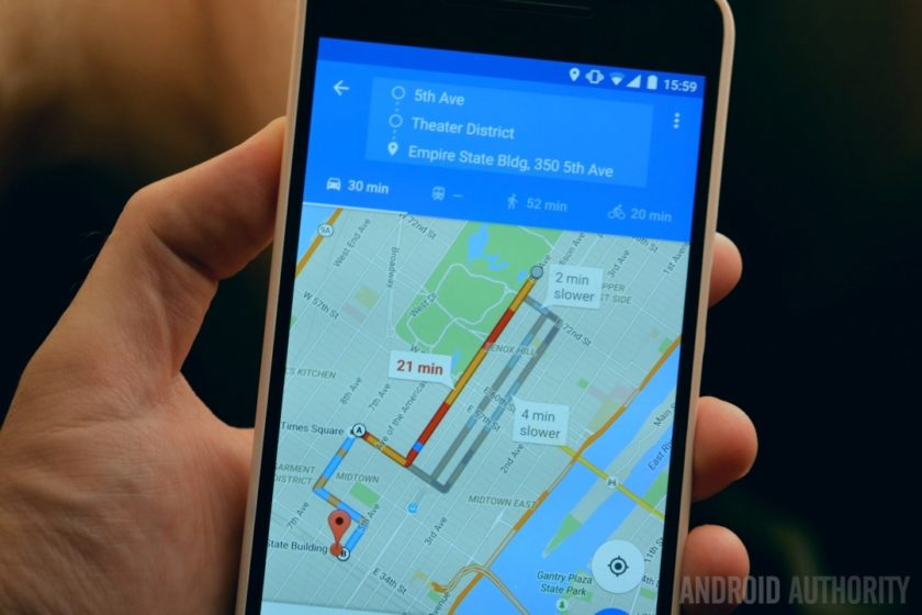 Google Now вече дава възможност за получаване на насоки от Apple Maps и Waze