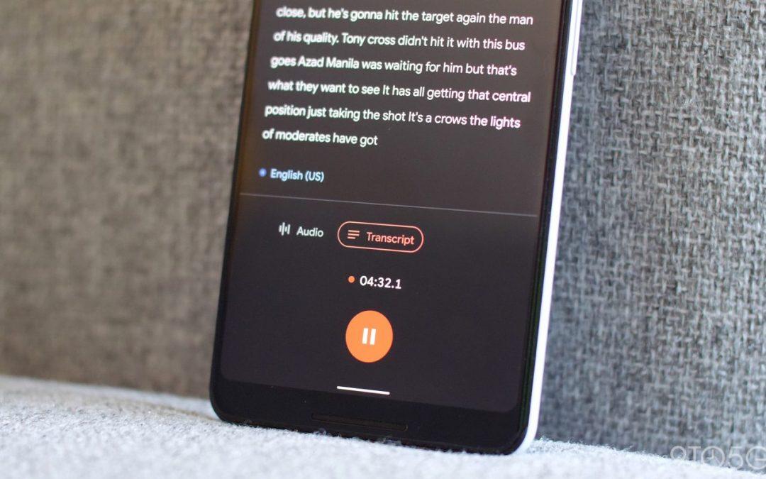 Мощното приложение Recorder на Google вече работи и на по-стари модели Pixel