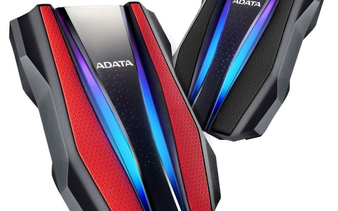 ADATA представи HD770G – първия в света външен HDD с RGB подсветка