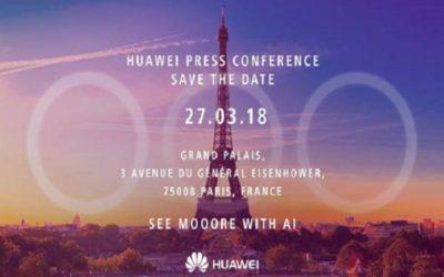 Huawei разпрати покани за премиерата на P20