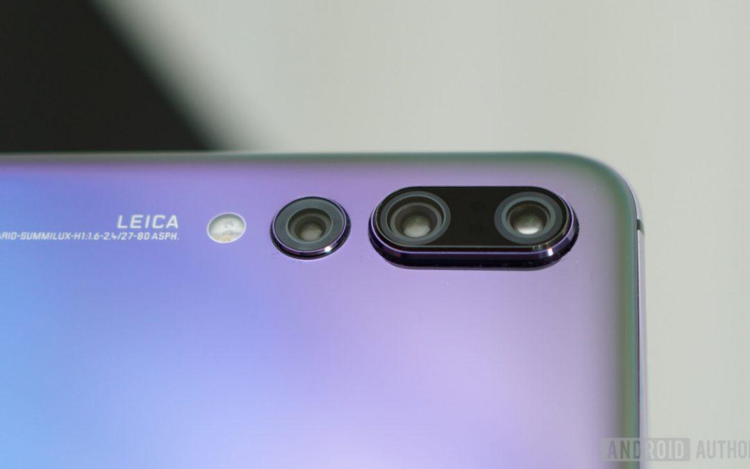 Актуализация носи на Huawei P20 Pro функция, подобна на тази на Galaxy S9