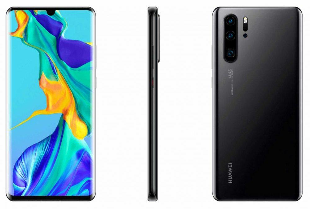 Появиха се официални рендери на Huawei P30 и P30 Pro