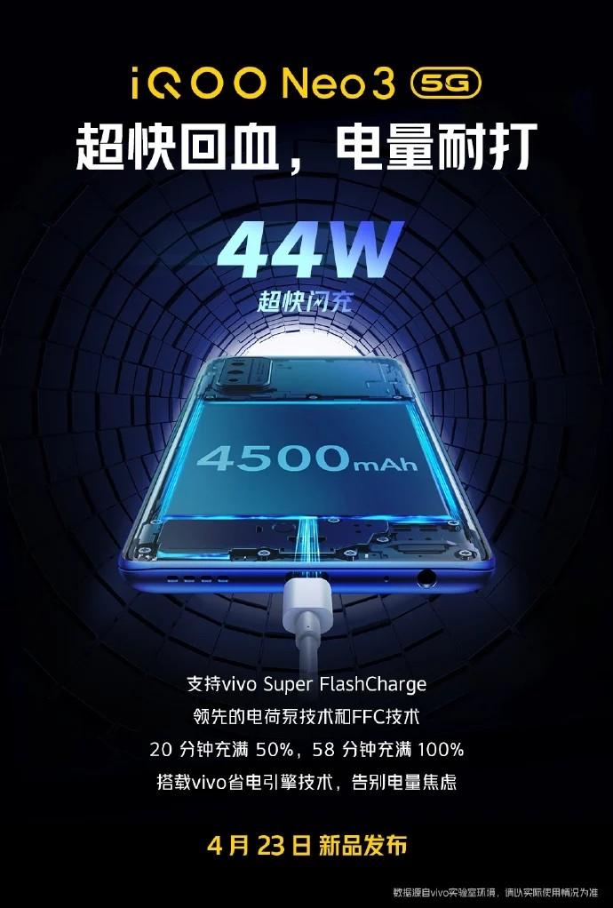 IQOO-Neo3-fast-charging