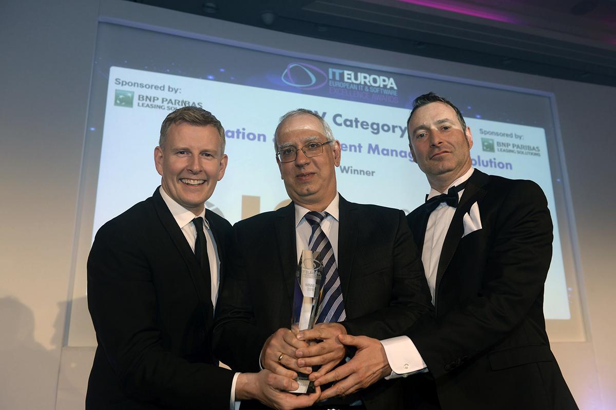 """Българската компания ICB спечели наградата """"Информационно решение на годината на """"European IT & Software Excellence Awards"""""""
