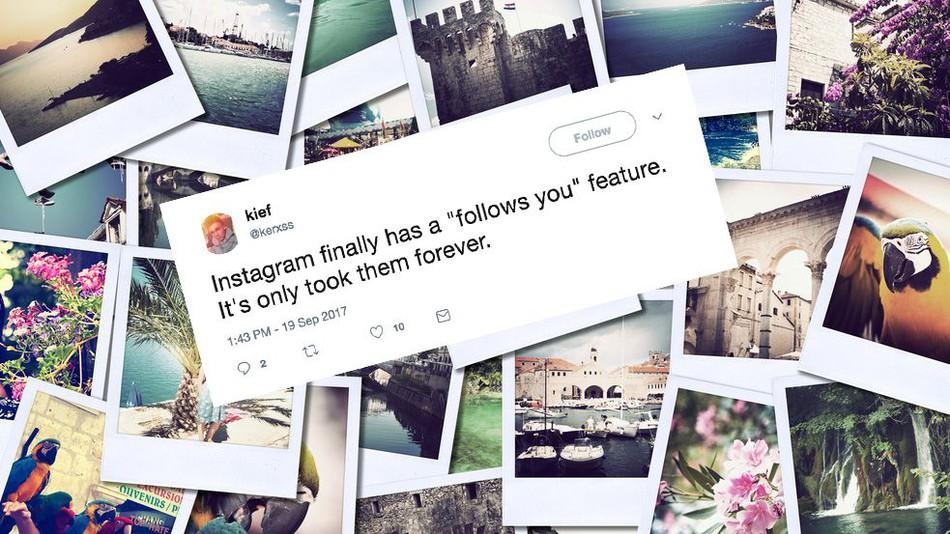 Instagram пуска функцията Follows you