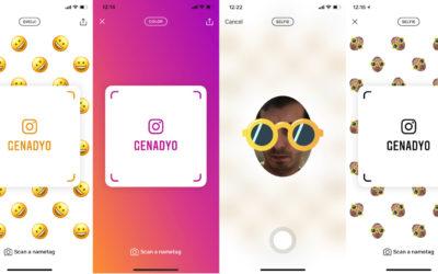 Instagram тества Nametags, за да намирате приятелите си лесно