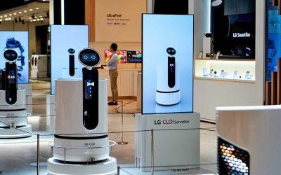 LG се готви да пусне самоуправляващи се колички за пазаруване в Корея