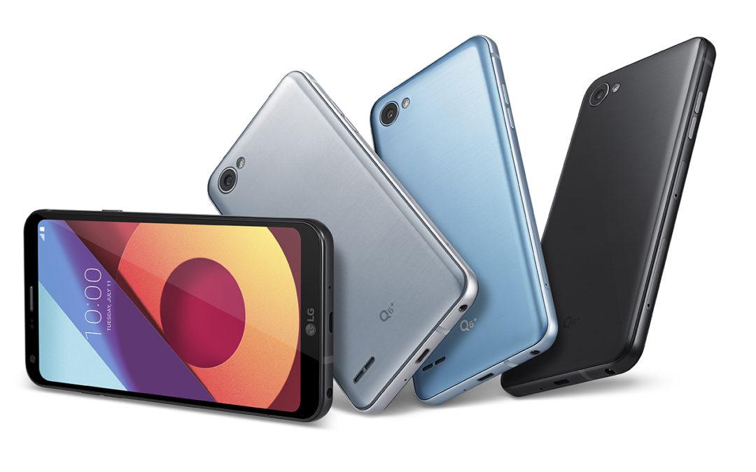 LG представи Q6 – телефон от среден клас с красив безрамков дисплей