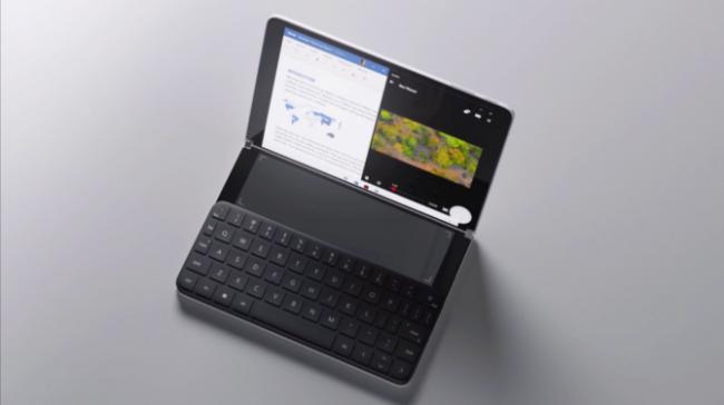 Сгъваемият телефон Microsoft Surface може да има три екрана