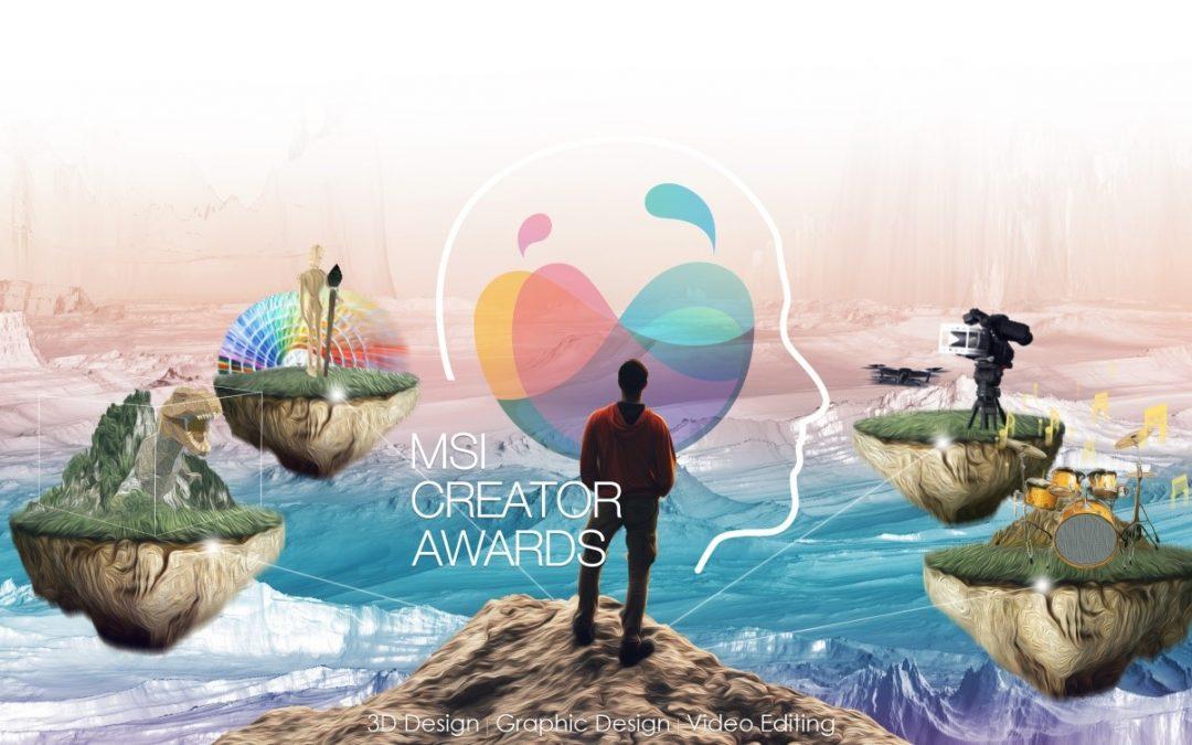 Конкурсът MSI Creator Awards 2020 приема участия