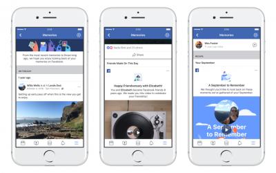 Facebook създаде нов дом за спомените ви