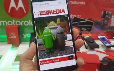 Motorola продължава иновативната си екосистема с модули със смартфона moto z3 play (ревю)
