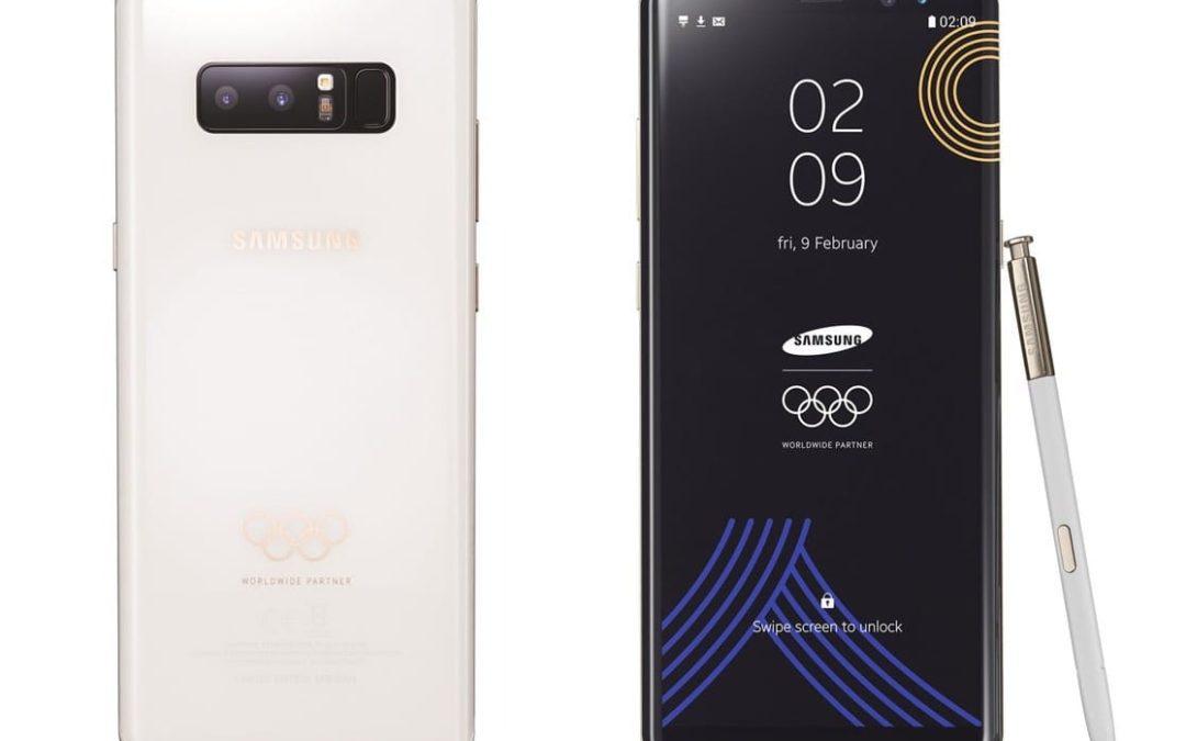 Note 8 получи специално олимпийско издание