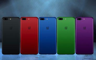 OnePlus 5 идва в пет цвята