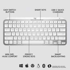 PNG-MX Keys Mini Pale Grey