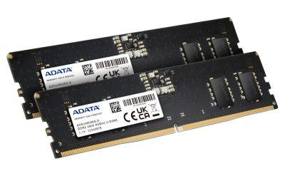 ADATA анонсира DDR5-4800 модул памет