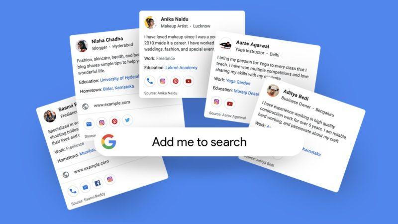 Google вече ви позволява да си направите онлайн визитка
