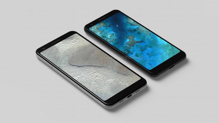 Pixel 3 Lite и Pixel 3 Lite XL се появиха в серия рендери