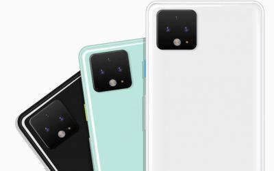 Рендер на Pixel 4 предполага бяла и ментово зелена версия