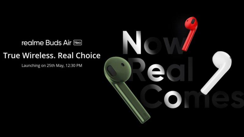 Realme Buds Air Neo пристигат на 25 май