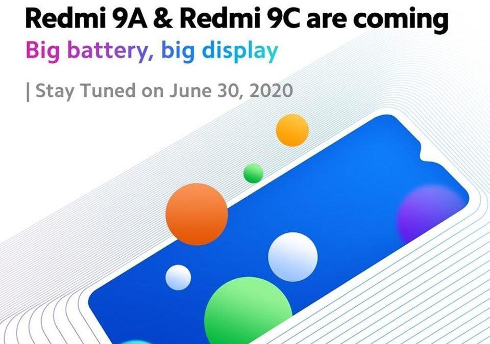 Redmi 9А и 9С ще стартират днес