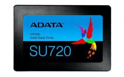 ADATA анонсира Ultimate SU720 SSD с капацитет до 1TB