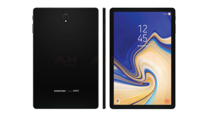 Galaxy Tab S4 се появи в кратко видео