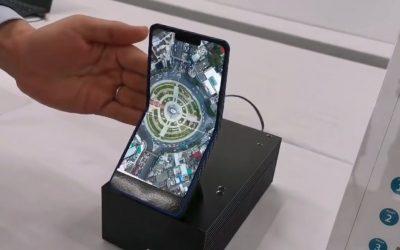 Sharp демонстрира сгъваем смартфон с един дисплей