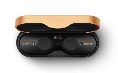 Слушалките Sony WF-1000XM3 получиха така необходимата функция за управление на звука