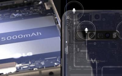 Изтекли изображения показват четворна камера и голяма батерия за LG V60 ThinQ