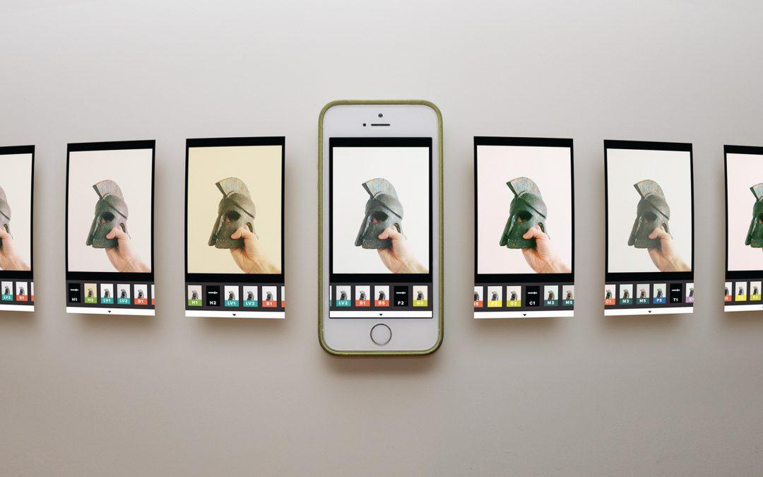 Фото приложението VSCO изключва функцията си за синхронизиране