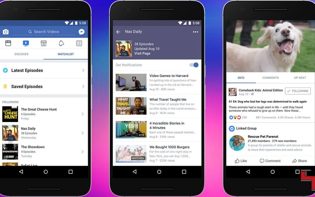 Facebook стартира новата си платформа за оригинални телевизионни предавания Watch
