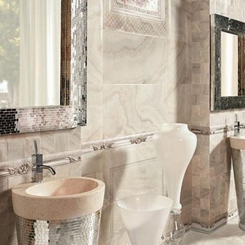 Необичайни подходи за поставяне на плочки в банята