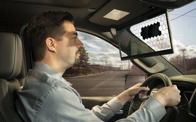 Bosch представи виртуален сенник за кола