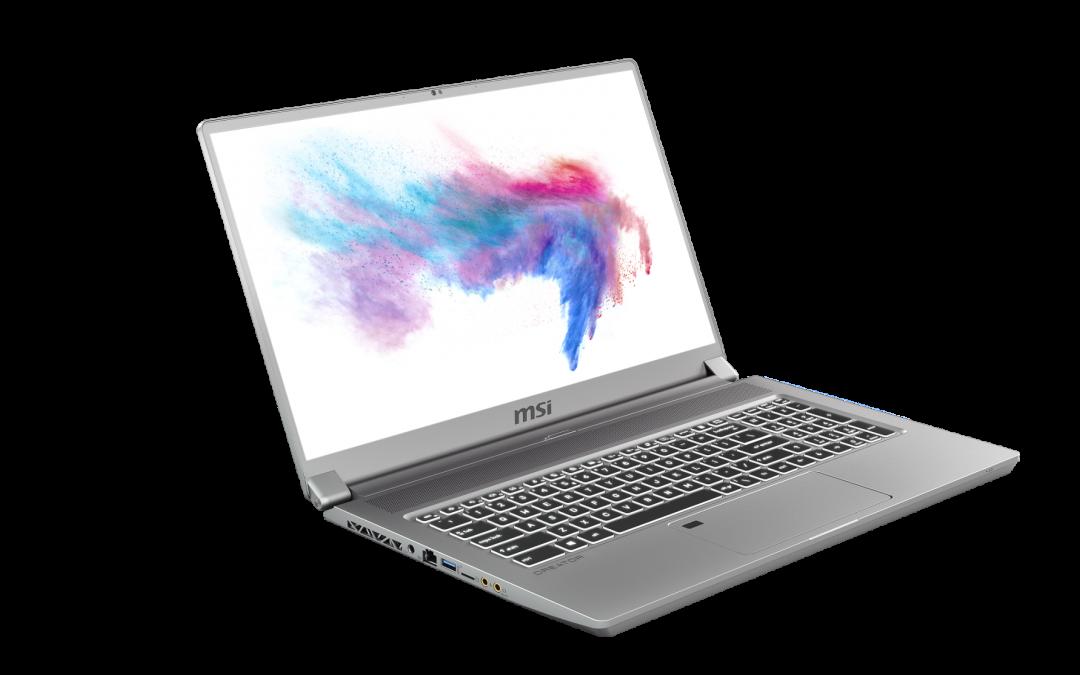 MSI представя следващото поколение дисплей за творци