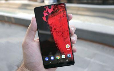 Essential Phone 2 може да е с предна камера под дисплея