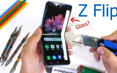 Тест за издръжливост на Galaxy Z Flip поставя под въпрос ултра тънкото стъкло на Samsung